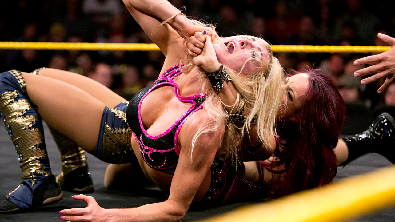 Photo of Sasha Banks and Charlotte