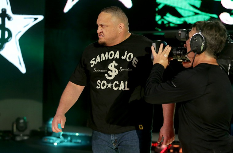 Photo of Samoe Joe on NXT